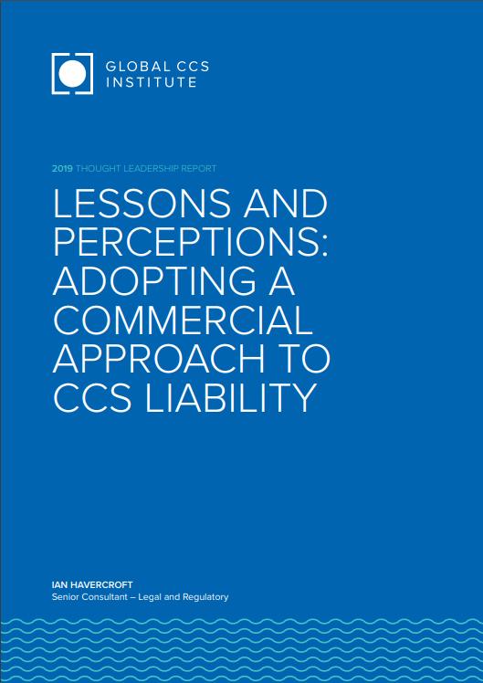 Global CCS Institute Report