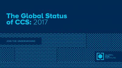 2017 Global Status of CCS report cover