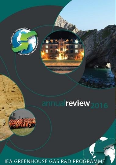 IEA GHG ANnual Review 2016 - cover thumbnail