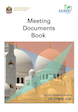 Meeting Documents Book cover page
