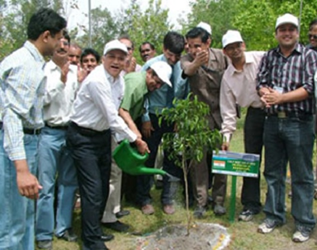 India delegates participate in ceremonial tree  planting as part of CSLF meeting in Delhi