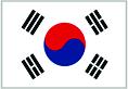 Flag of Republic of Korea, aka South Korea